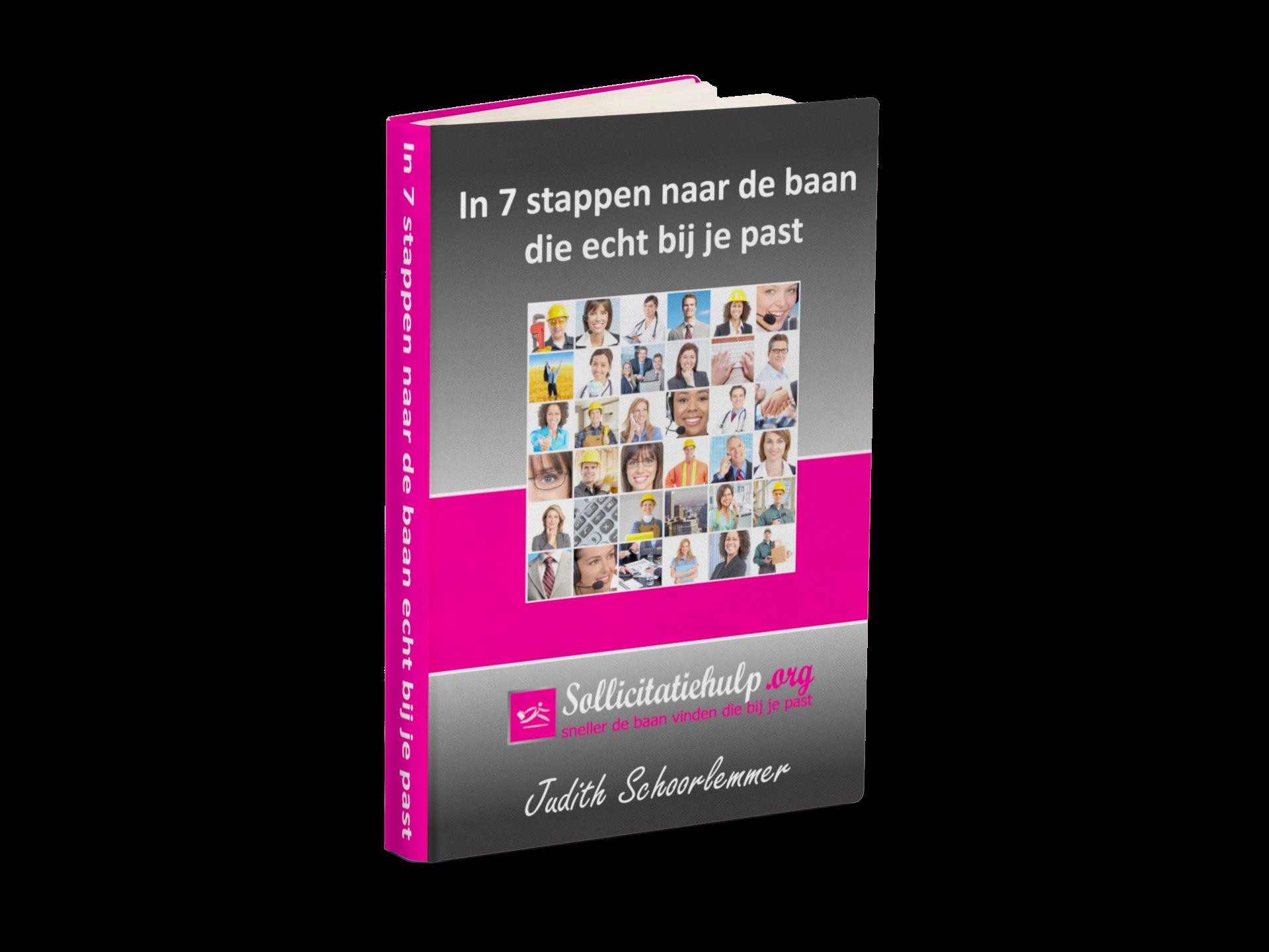 Mijn e-book, met de 7 stappen methode