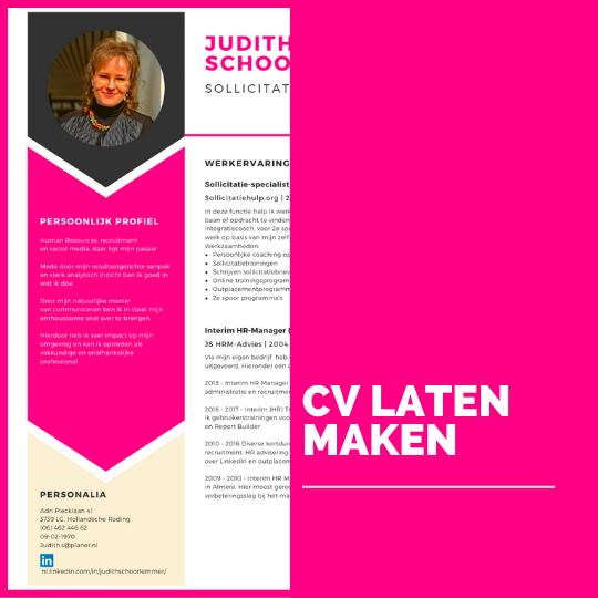 CV laten maken